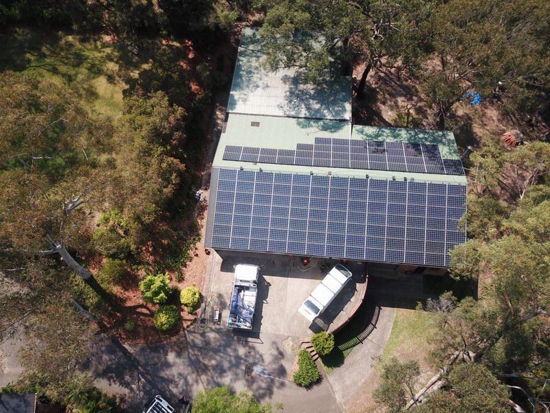 Solar Panels - Annangrove Office