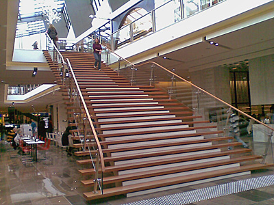Bluegum Staircase Westfield Shopping Town (Doncaster)