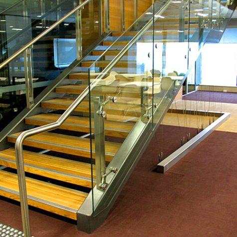 American Oak Timber Stair - CommBank