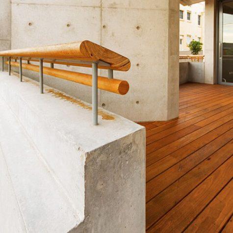Blackbutt Handrail & Decking - Cronulla