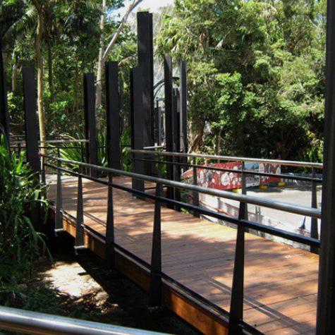 Blackbutt decking - Taronga Park Zoo