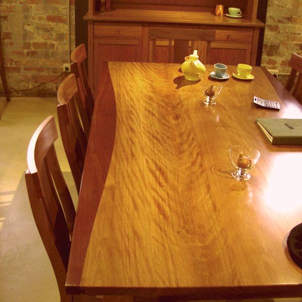 Brushbox table (Jarrah trim)