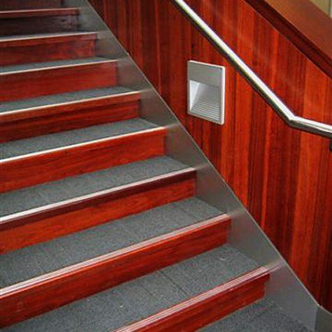 Jarrah Stair Cladding - Woolworths