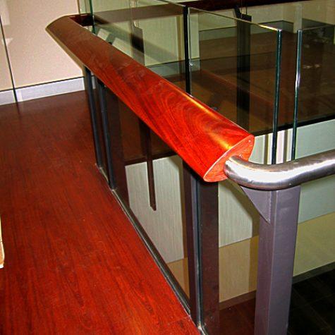 Jarrah Flooring & Handrail - Woolworths