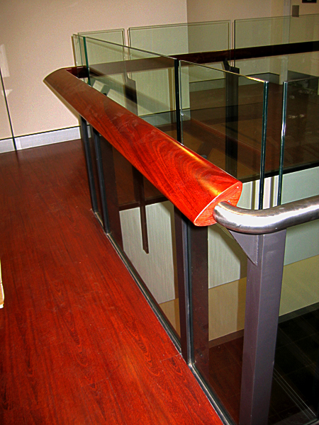 Jarrah Flooring/Handrail