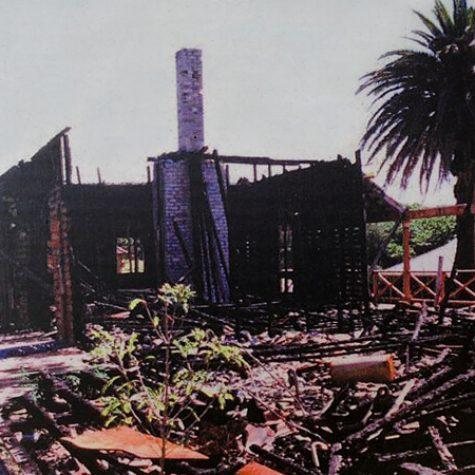 Post 2001 Fire - Quarantine Stn