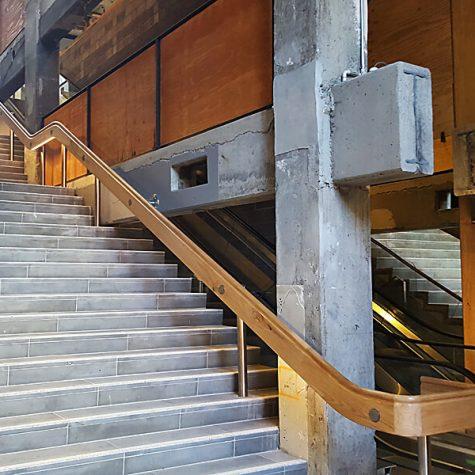 RMIT - Blackbutt Handrails 3