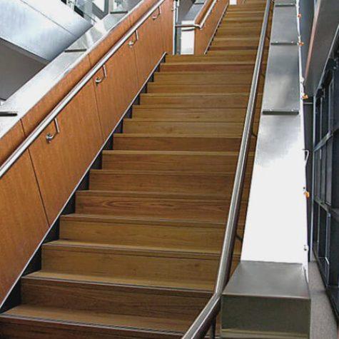 Reclaimed Blackbutt Timber Stair - ANU