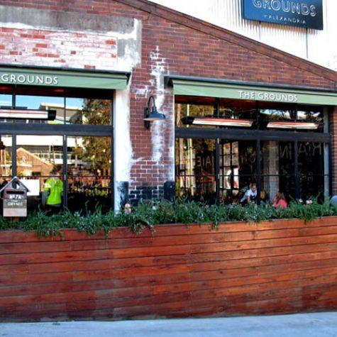 Reclaimed Ironbark Garden Wall - Grounds Coffee
