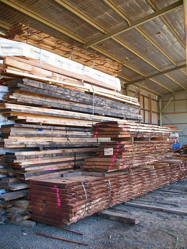 """""""Reclaimed"""" Timber Slabs"""