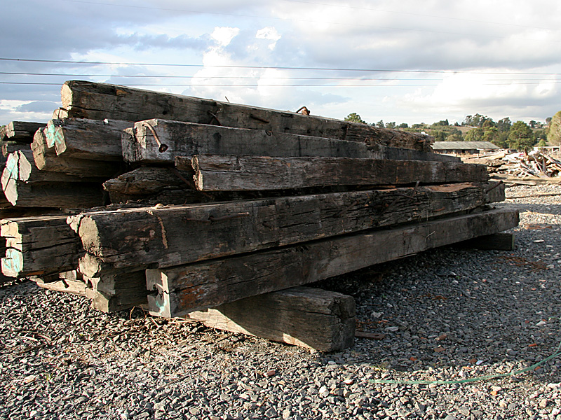 """""""Recycled""""  Wharf Beams Ex.- Water Police site (Sydney)"""