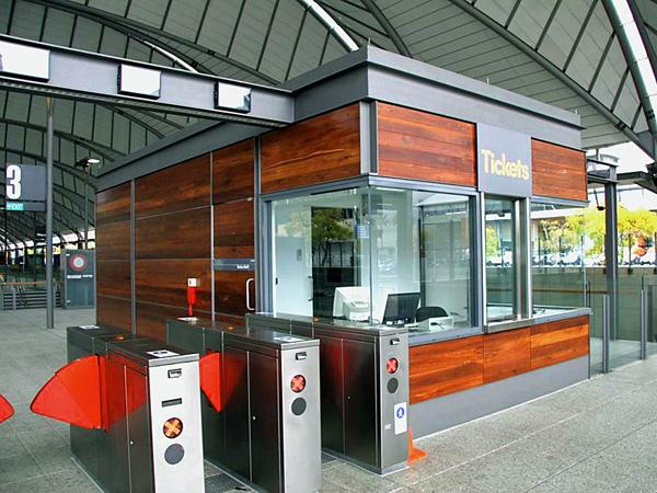 Red Ironbark Cladding OlympicPark Station
