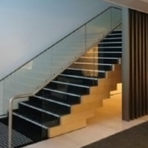 Rock Maple & Ecoply Stair - Commbank