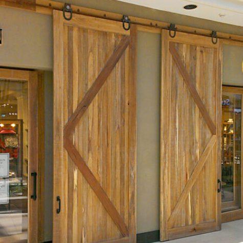 Spotted Gum Barn Doors - WSPB