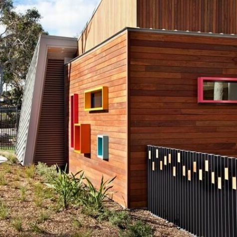 Spotted Gum Timber Cladding - ANSTO