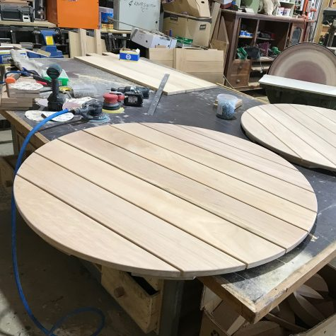 Spotted Gum table top
