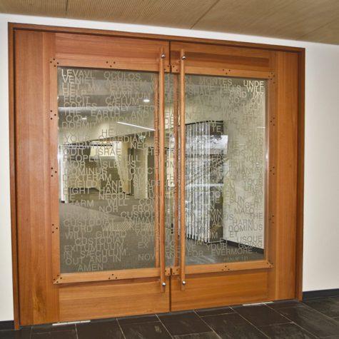 Pivot Bluegum Doors