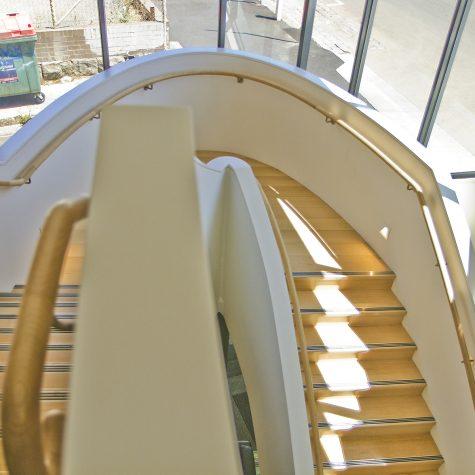 Custom Blackbutt staircase