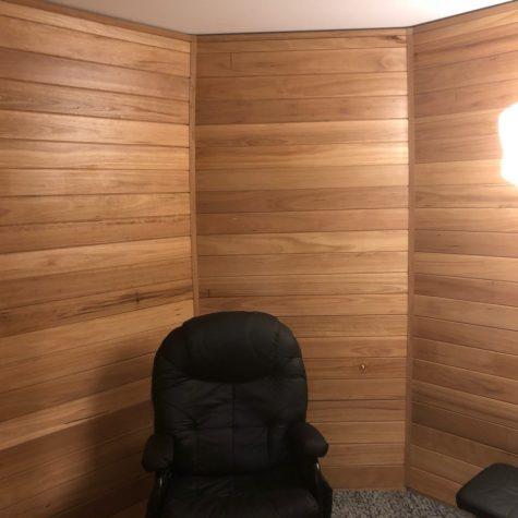 Inside timber Igloo